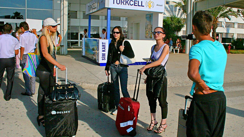 Crazy vacation in Turkey: Day 1 - Party of sex and thrill seekers